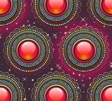 Structure colourful abstract background Sticker
