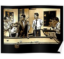 Zombie Rat Pack Poster