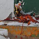 Abandoned (Sacred Still-Life in Winter) by Edward A. Lentz