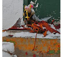 Abandoned (Sacred Still-Life in Winter) Photographic Print