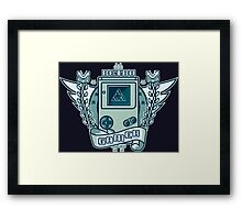 Retro Gaming Framed Print
