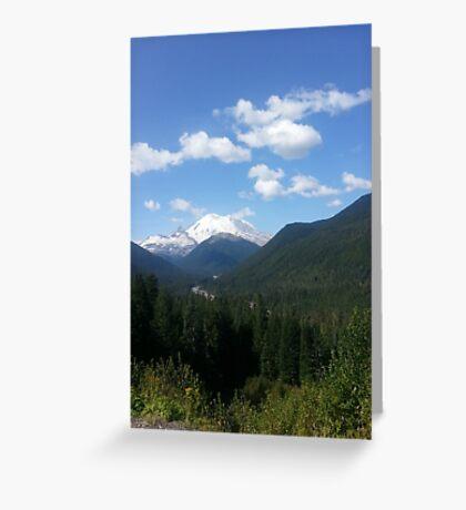 MT. rainer Greeting Card