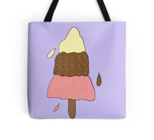 Rocket Lolly Ice Cream Collage Tote Bag