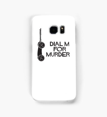 Dial M for Murder Samsung Galaxy Case/Skin