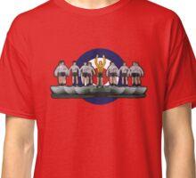 Classic England '66 subbuteo design with Mod target Classic T-Shirt