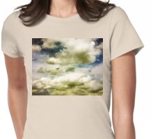Above the clouds II Womens Fitted T-Shirt