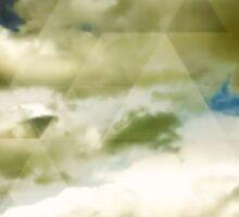 Above the clouds II Sticker