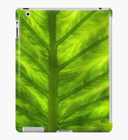 Fern macro iPad Case/Skin