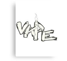 Vape Canvas Print