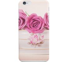 Mauve Roses in a Gravy Boat iPhone Case/Skin