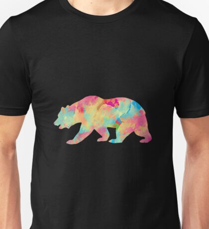 Abstract Bear Unisex T-Shirt
