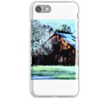 old barn,napa valley iPhone Case/Skin