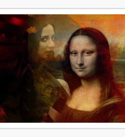 The Mona in Me Sticker
