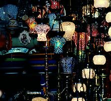 lamp store,spice market,Istanbul by califpoppy65