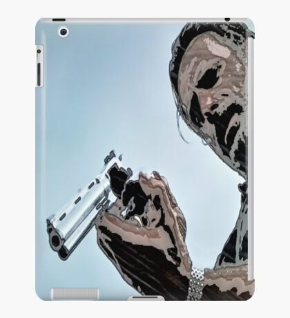 Walking Dead Rick and Python iPad Case/Skin