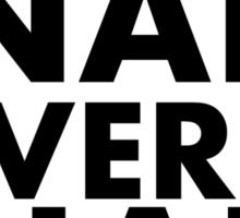 SN Sticker
