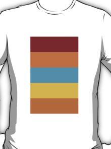 Wes Anderson Palette (Fantastic Mr. Fox) T-Shirt