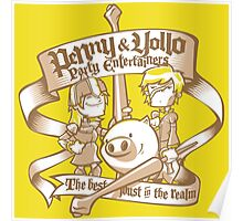 Penny & Yollo - Party Entertainers Poster