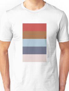 Wes Anderson Palette (Royal Tenenbaums) Unisex T-Shirt