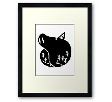 Gluttony, The Boar Framed Print