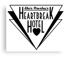 Elvis Presley's Heartbreak Hotel Canvas Print