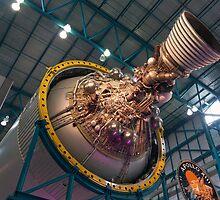 Apollo Third Stage Saturn V Rocket by David Lamb