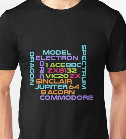 Retro Computers - the golden age Unisex T-Shirt