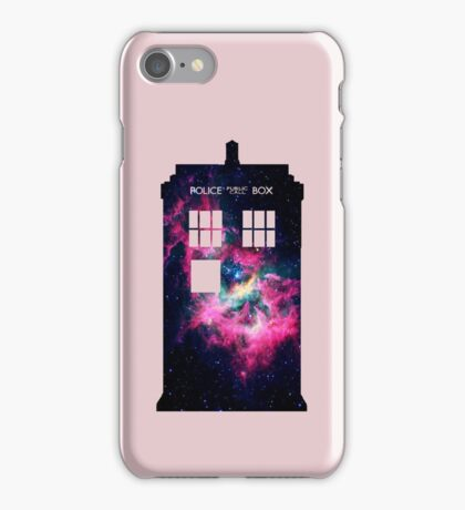 Space TARDIS - Doctor Who iPhone Case/Skin