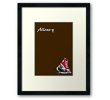 Allons-y - Doctor Who Framed Print