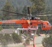 Cal-Fire Helicopter - Sawtooth Fire 2 Sticker