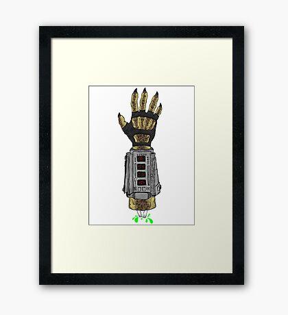 Predator's Hand Framed Print