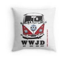WWJD ? Throw Pillow