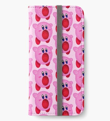 Kirby - Pink iPhone Wallet/Case/Skin