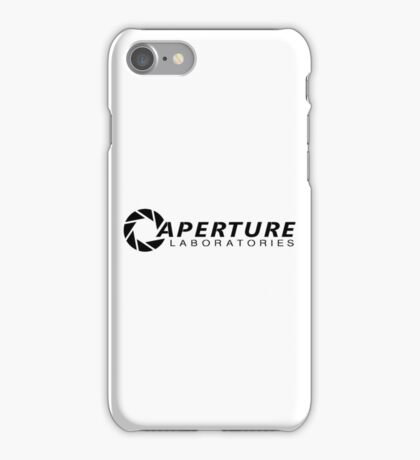 Aperture Laboratories iPhone Case/Skin