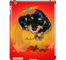 Puppy in a Pumpkin iPad Case/Skin