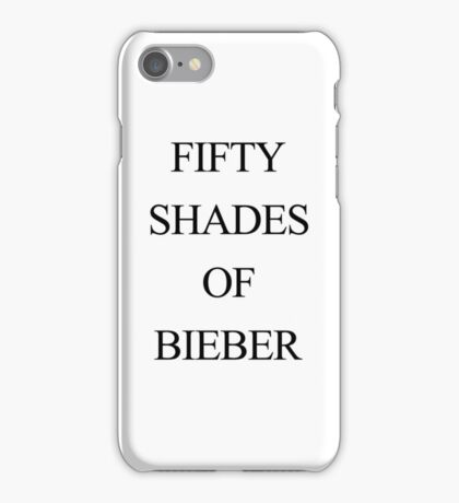 FIFTY SHADES OF BIEBER iPhone 6 case iPhone Case/Skin