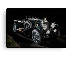 4,5 Litre Bentley Le Mans Canvas Print