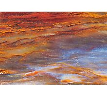 Petrified Wood Abstract Photographic Print