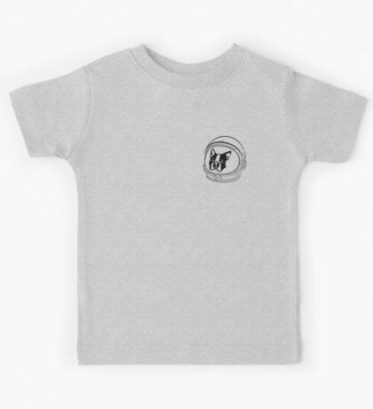 French Bulldog Apollo Mission Kids Tee