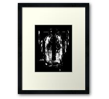 The Face Of Cyberman! Framed Print