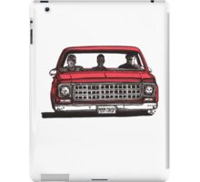 MMM DROP in red iPad Case/Skin