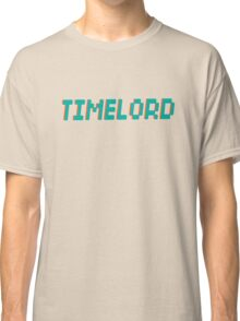 TIMELORD 3D TEXT Classic T-Shirt