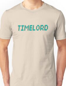 TIMELORD 3D TEXT Unisex T-Shirt