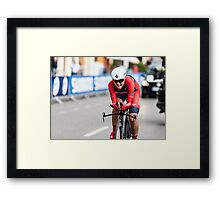 Evelyn Stevens (USA) Framed Print