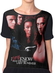 I Still Know What You Did Last Summer Chiffon Top