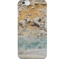 Geothermal Pool Reflections iPhone Case/Skin