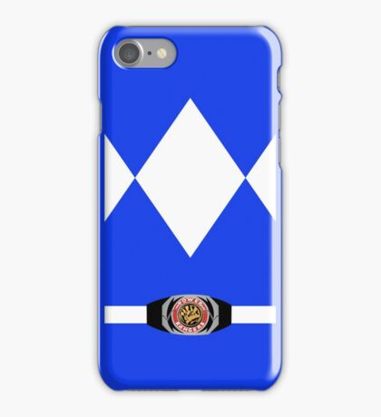 Blue Ranger Iphone Case iPhone Case/Skin