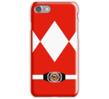 Red Ranger Iphone Case iPhone Case/Skin