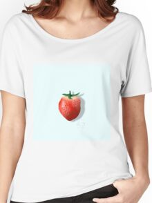 Strawberry design  Women's Relaxed Fit T-Shirt