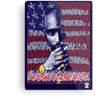 Tupac Shakur [American Dreamer] - Cloud Nine Metal Print